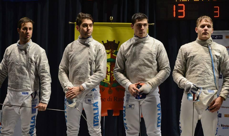 Finalisti sciabola maschile