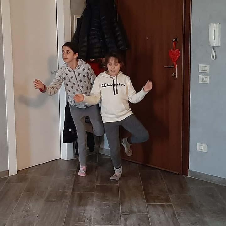 FENCERS AT HOME