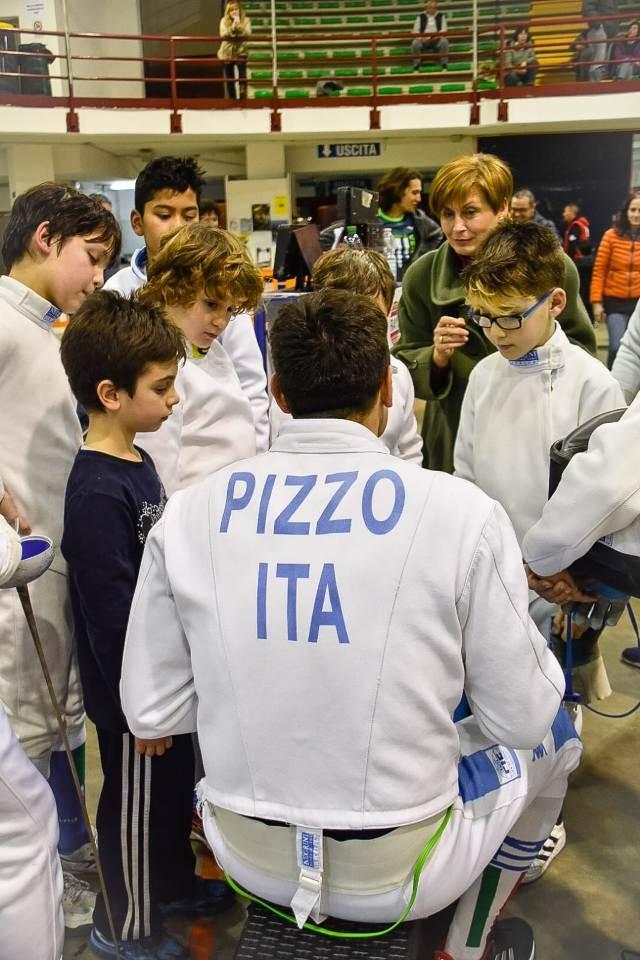 ALLENAMENTO  CON PAOLO PIZZO