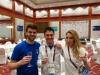 Giochi Europei Baku 06.2015  Guido Di Bartolomeo con Sofia Ciaraglia e Damiano Rosatelli