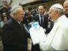 Mario Castrucci con Sua Santità Papa Bergoglio (foto fotofelici)