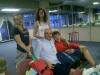 Aeroporto di Fiumicino... in partenza