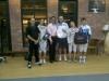Scambio di gagliardetti con TK Wong, Presidente ZFencing
