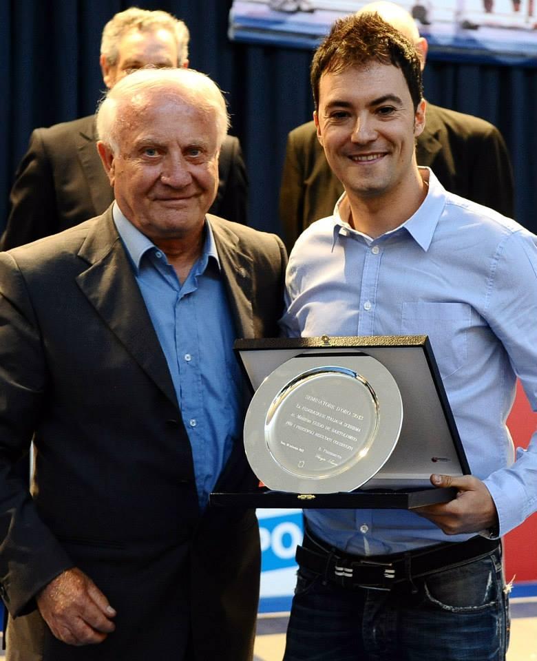 """Il Maestro Guido Di Bartolomeo si aggiudica il """"Seminatore d'Oro"""" 2013"""