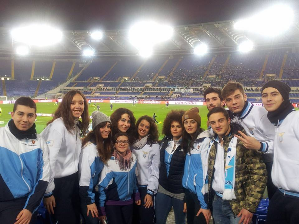 I nostri atleti ospiti della S.S. Lazio Calcio