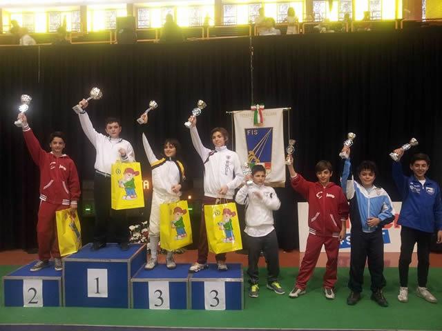Seconda prova Nazionale Under 14 Gran prix Kinder+Sport!