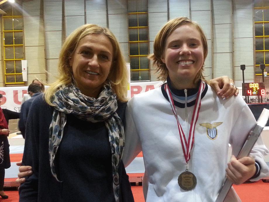 Circuito Europeo Cadetti – Susan protagonista nella spada femminile