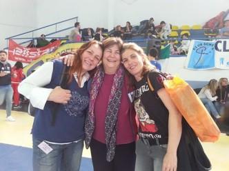 Baronissi 11.02.2015 III prova interregionale GPG Roberta Castrucci, Lucia Traversa e Barbara Marinucci