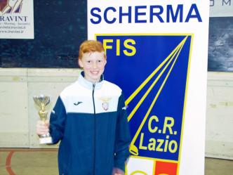 William David Sica terzo classificato alla 1^ prova Interregionale GPG Ariccia 2015