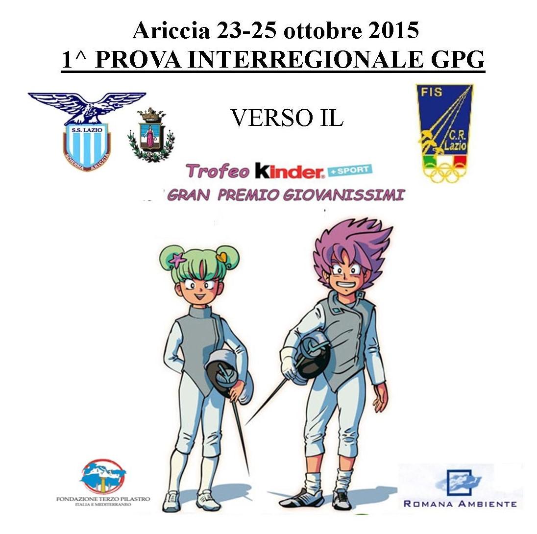 1^ PROVA INTERREGIONALE GPG