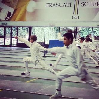 Allenamento GPG Frascati (foto G.Ciacchi)