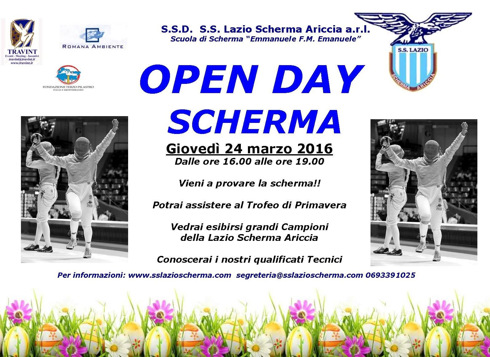 OPEN DAY LAZIO SCHERMA