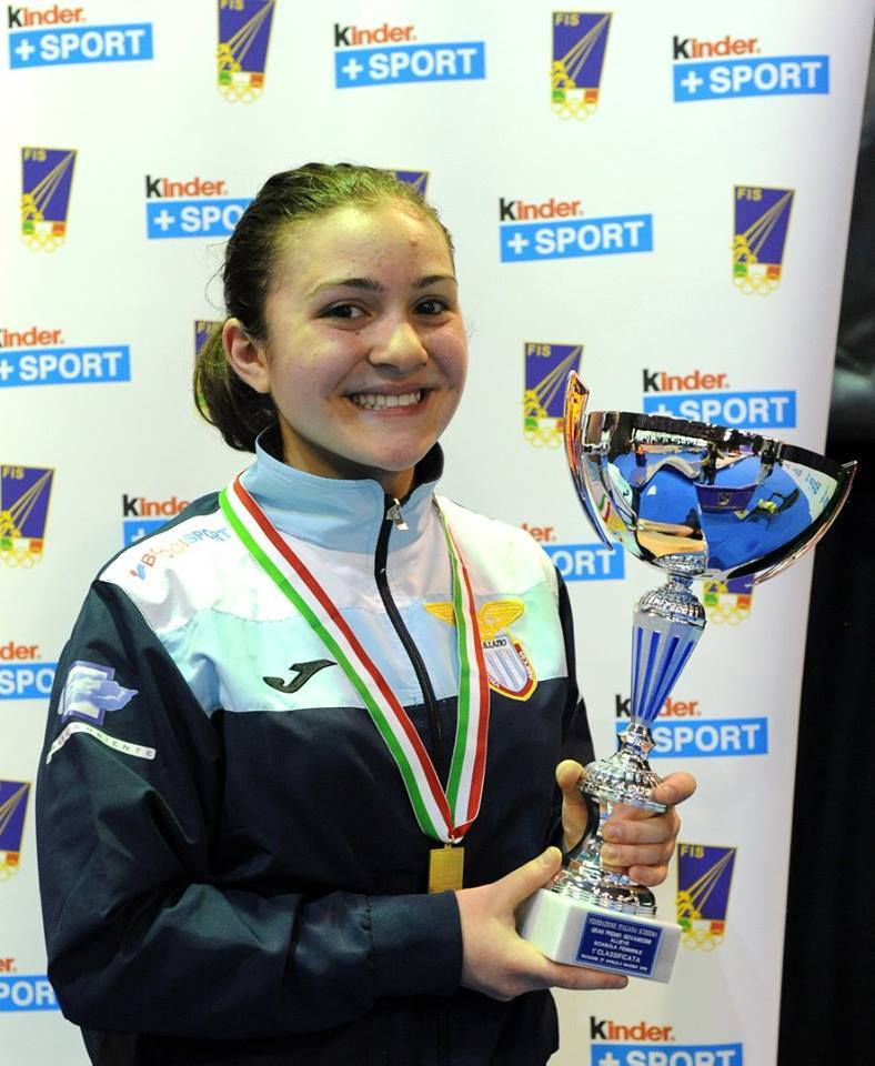 GRAN PREMIO GIOVANISSIMI 2016: MARTINA COTOLONI CAMPIONESSA ITALIANA