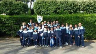 23.05.2016  Lazio Scherma con il Presidente della Società Polisportiva Lazio, Dott. A.Buccioni