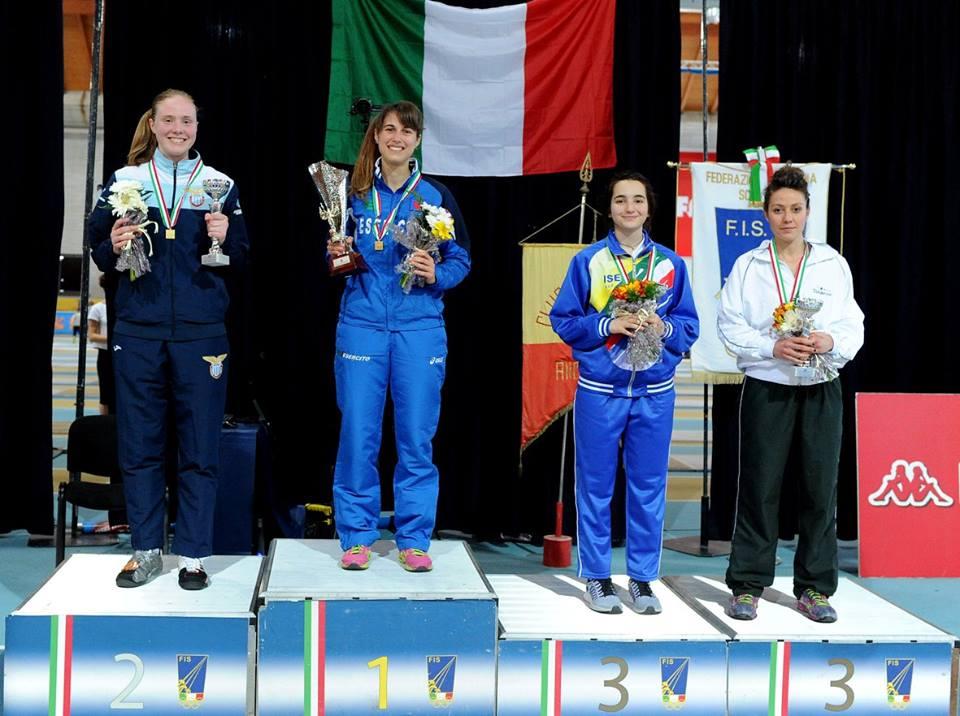 COPPA ITALIA NAZIONALE 2016: STREPITOSO ARGENTO PER SUSAN MARIA SICA