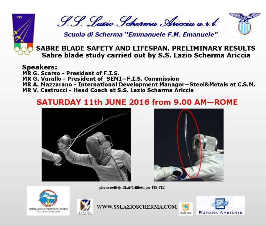 SABRE BLADE SAFETY AND LIFESPAN. PRELIMINARY RESULTS