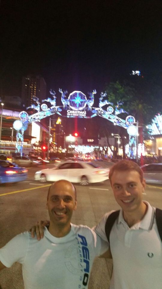 ALESSIO PIAZZA A SINGAPORE… TRAVEL DIARY 1#