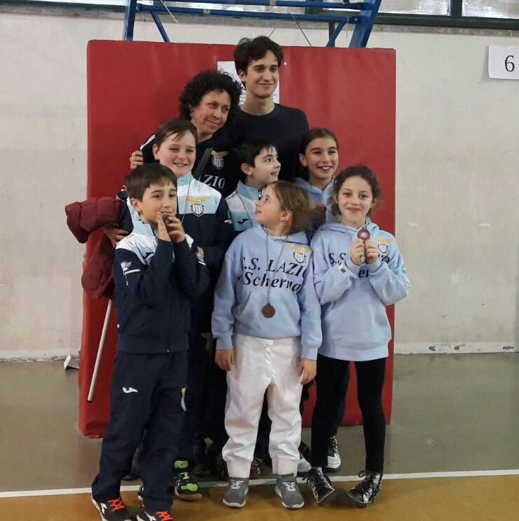 Orvieto 12.02.2017 Trofeo Pegaso  Esordienti e Prime Lame con Giovanna Ciacchi e Alessio Neri (foto G.Ciacchi)