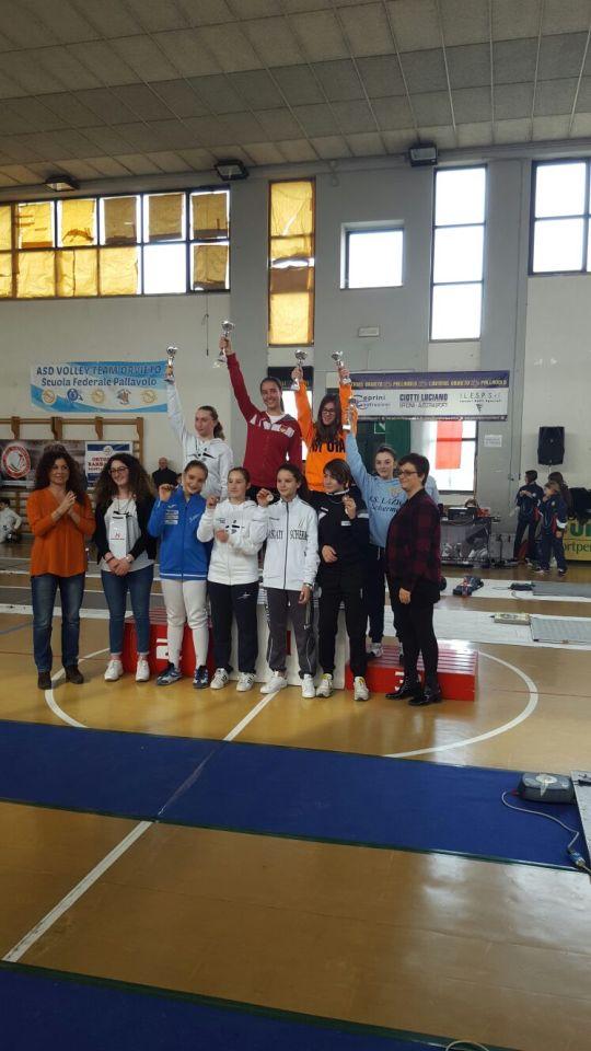 Orvieto 12.02.2017 Trofeo Pegaso  Lucrezia Paulis (foto B.Calandrelli)