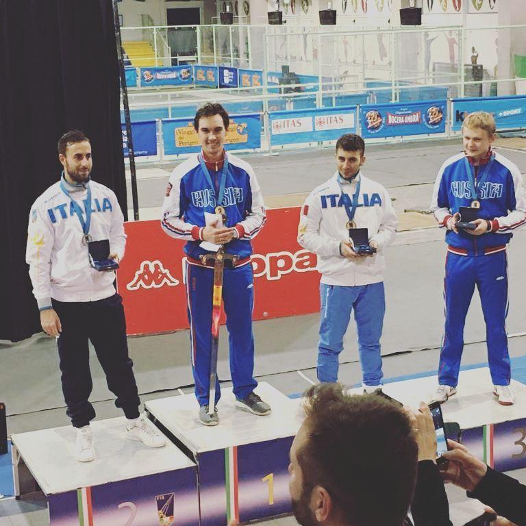 Roma Circuito Europeo U23 Il russo Ibragimov Oro, Foschini (esercito) Argento e Bronzo per Stefano Scepi (Fiamme Oro) e Dmitriy Danilenko (Russia)