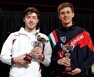 Roma 2^ prova nazionale giovani Giacomo Mignuzzi (foto Trifiletti/Bizzi per Federscherma)