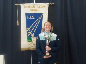 Foggia 1 aprile 2017 campionato Italiano U23 Susan Maria Sica  (foto V.Sica)