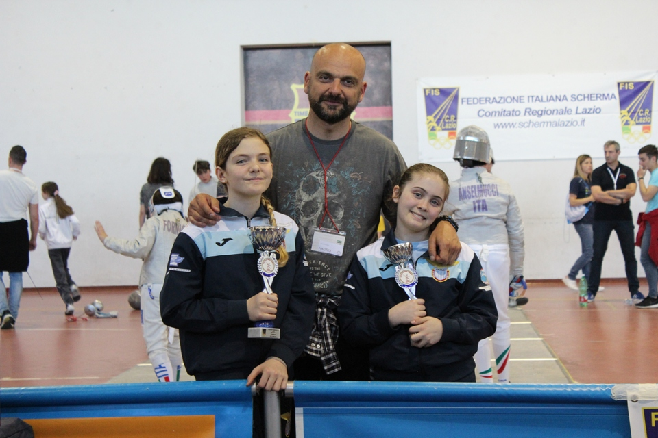Campionato Regionale Lazio Categoria giovanissime sciabola