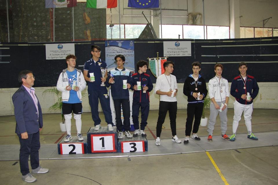 Finalissima Trofeo Comitato Regionale Lazio Spada maschile (fotoexpresspvs)