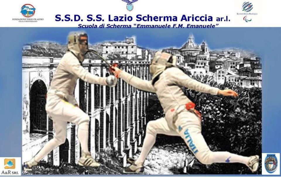 L'ECCELLENZA DELLO SPORT NEI CASTELLI ROMANI: I VENT'ANNI DELLA LAZIO SCHERMA ARICCIA
