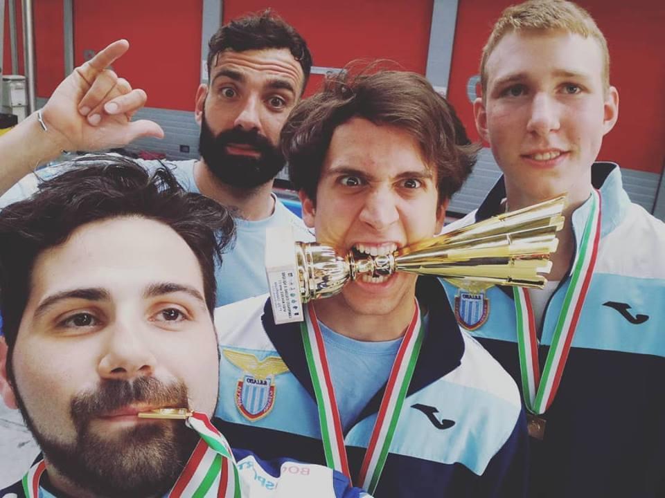 CAMPIONI D'ITALIA: LO SQUADRONE DI SPADA PROMOSSO IN SERIE B2