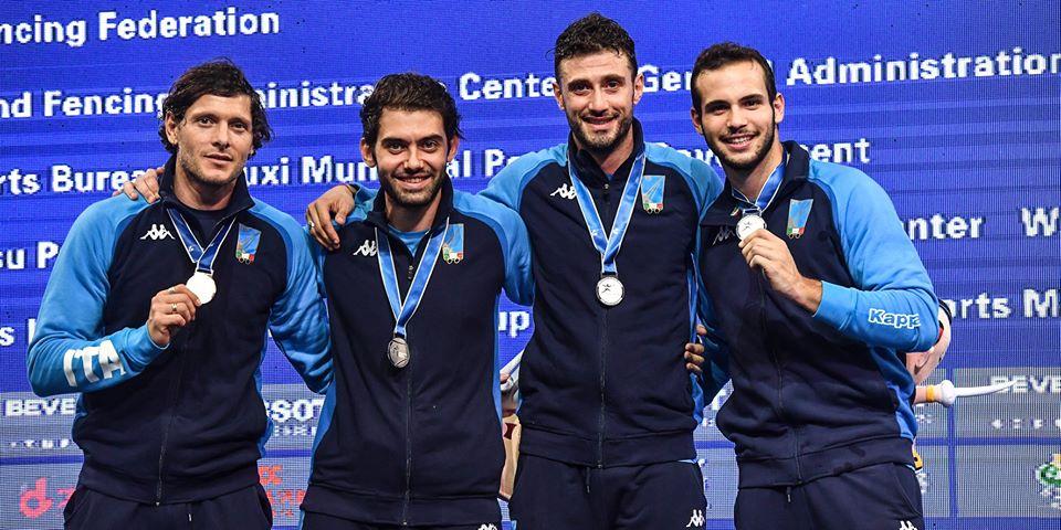 ARGENTO MONDIALE PER ENRICO BERRÈ A WUXI 2018