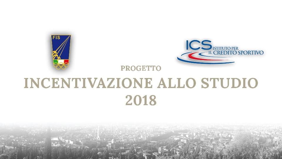INCENTIVAZIONE ALLO STUDIO 2018