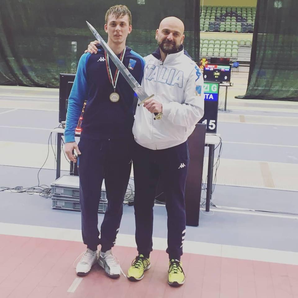 Giacomo Mignuzzi oro a Plovdiv in Coppa del Mondo U20