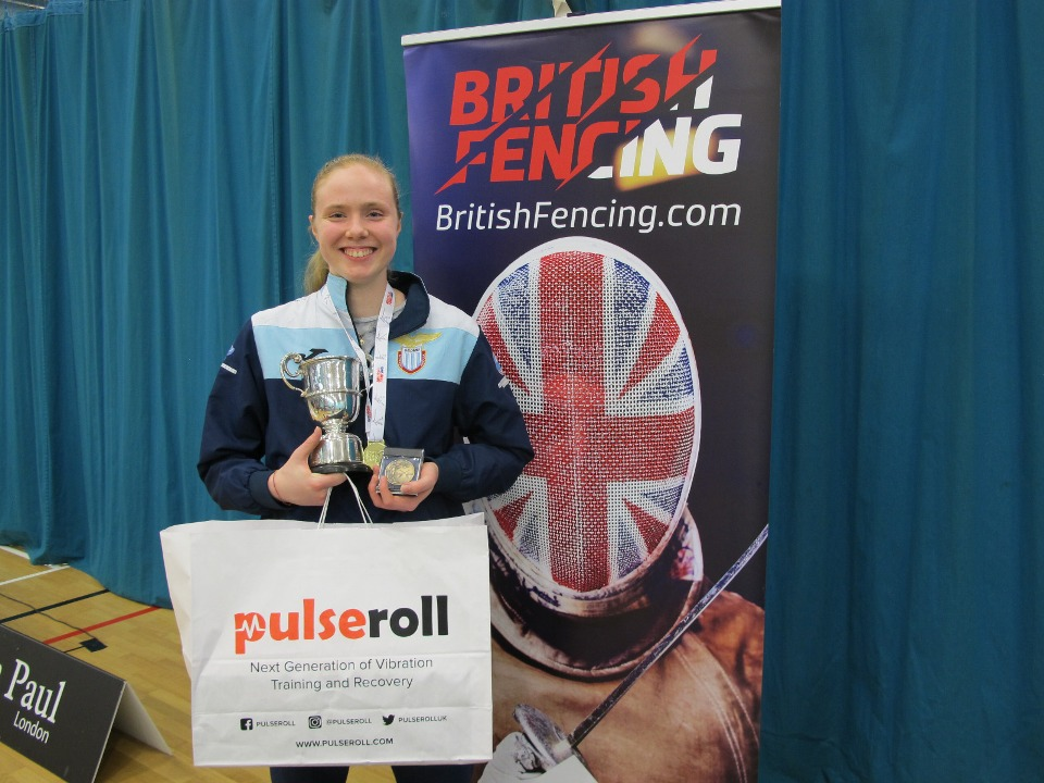 SUSAN MARIA SICA WINS THE SENIOR BRITISH CHAMPIONSHIPS 2019