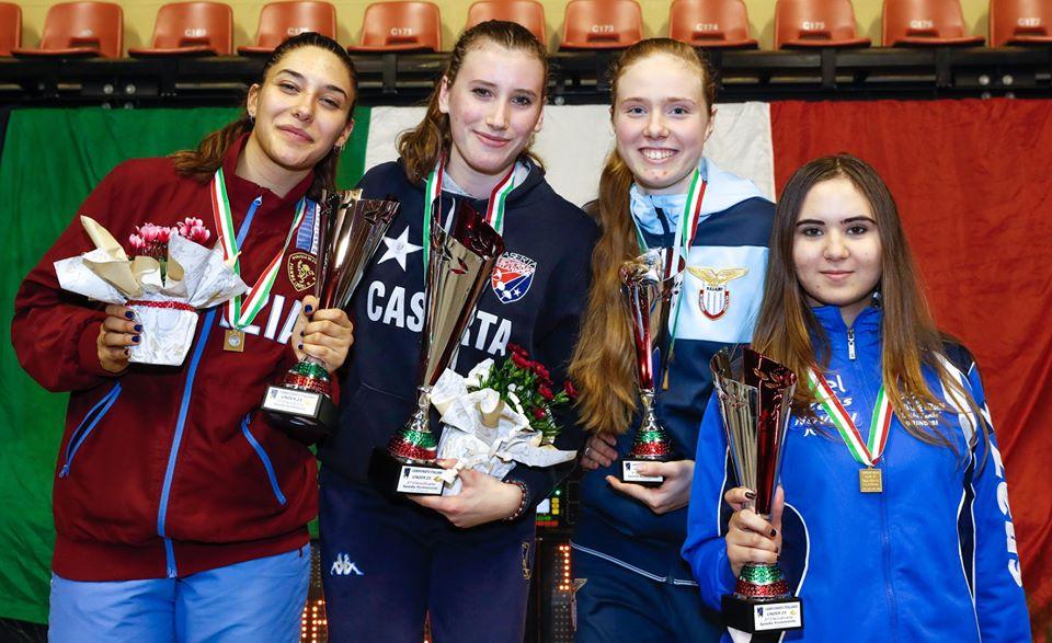 SUSAN MARIA SICA BRONZO NEL CAMPIONATO ITALIANO U23