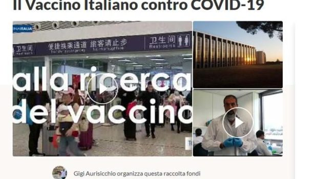 VACCINO ITALIANO COVID-19: AIUTIAMOLI AD AUTARCI